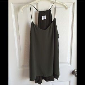 Dark Olive Green Camisole